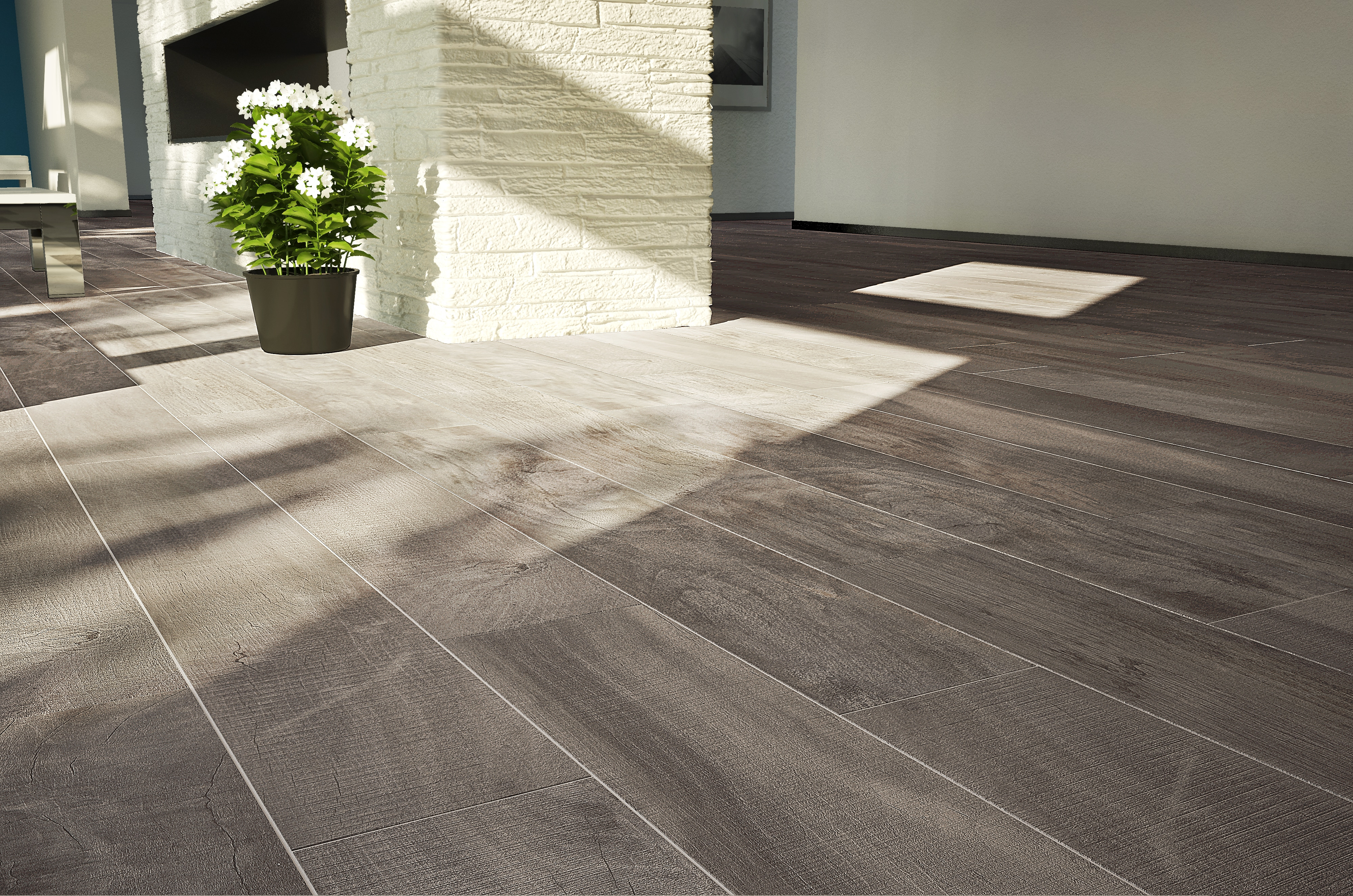Parkay Alta Pebble Porcelain Wood Tile Masters